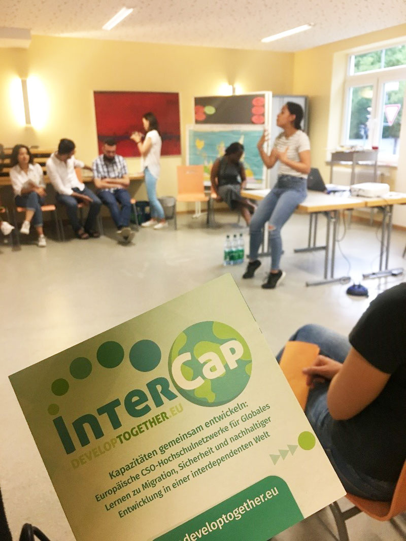 """Migration and Leadership-Skills"" – Internship with InterCap and STUBE Hessen"